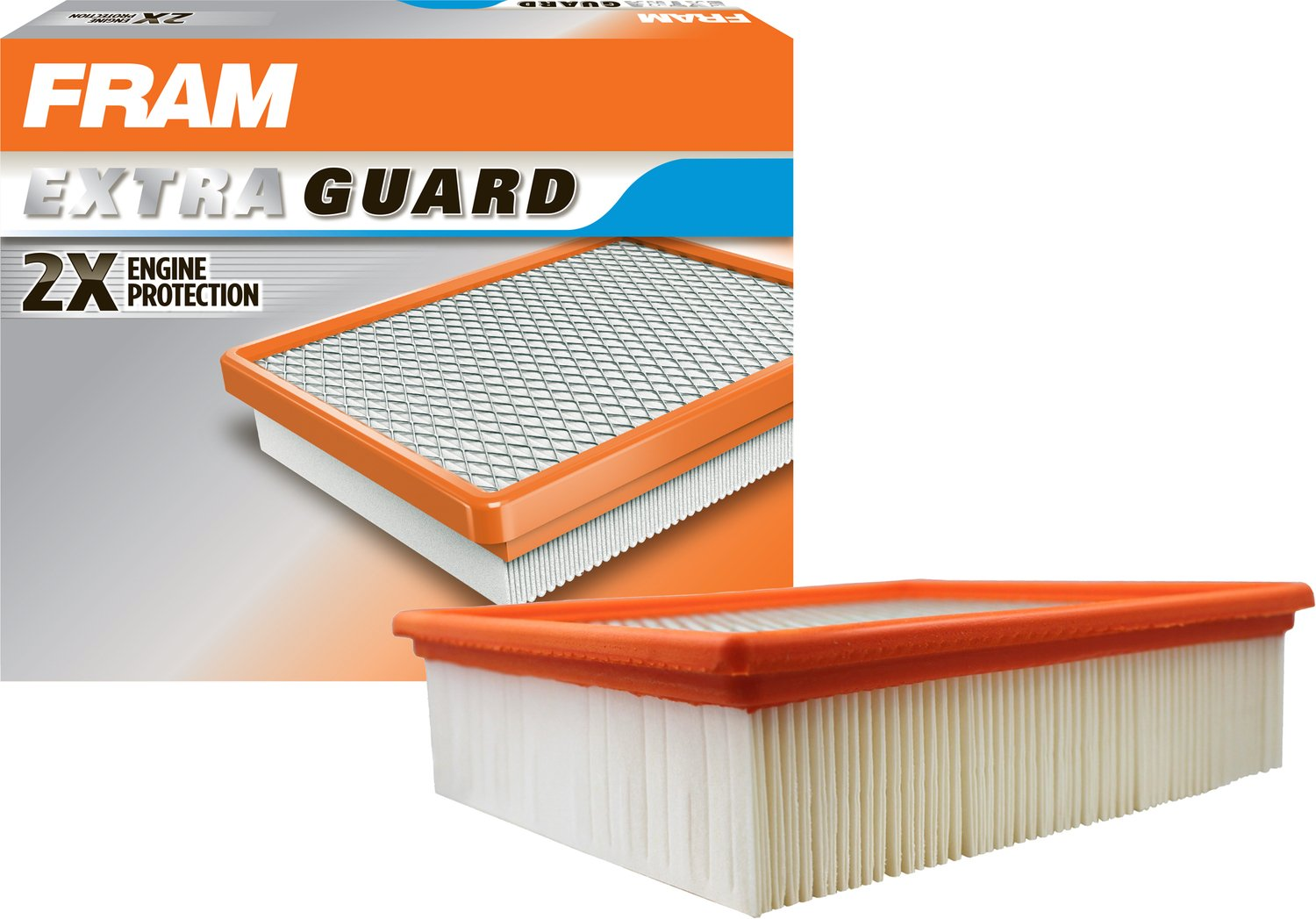 Fram Ca8243 Extra Guard Flexible Panel Air Filter Ford 7 3 Fuel Assy Automotive