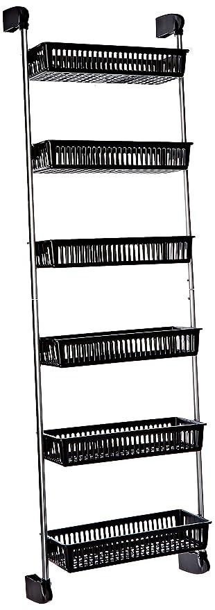 Neu Home Over The Door 6 Basket Hanging Storage Unit With Hooks