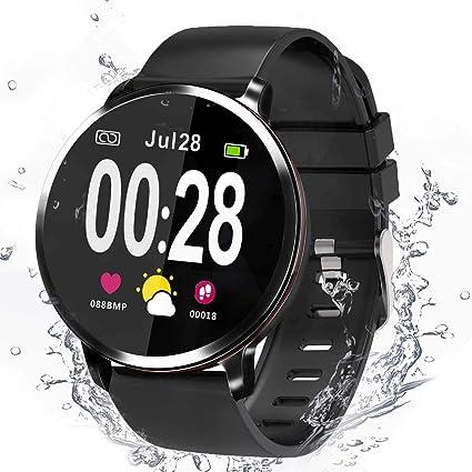 Smartwatch, Reloj Inteligente Hombre Mujer Smartwatch Deporte ...