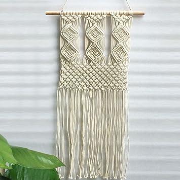 Good HANSHI Makramee Wandbehang Handgefertigt Wanddeko Dekoration Für Ihr Zimmer  Schlafzimmer Küche Wohnzimmer Geeignet Für Innen Und