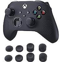 TiMOVO Kılıf Xbox Series X/S Controller ile uyumlu, yumuşak silikon, kaymaz koruyucu kılıf, 8 başparmak kavrama kapağı…