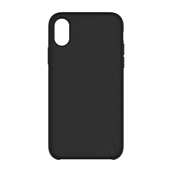 size 40 e6209 b2748 Amazon.com: B&O Play Leather Case for iPhone X - Black: Cell Phones ...