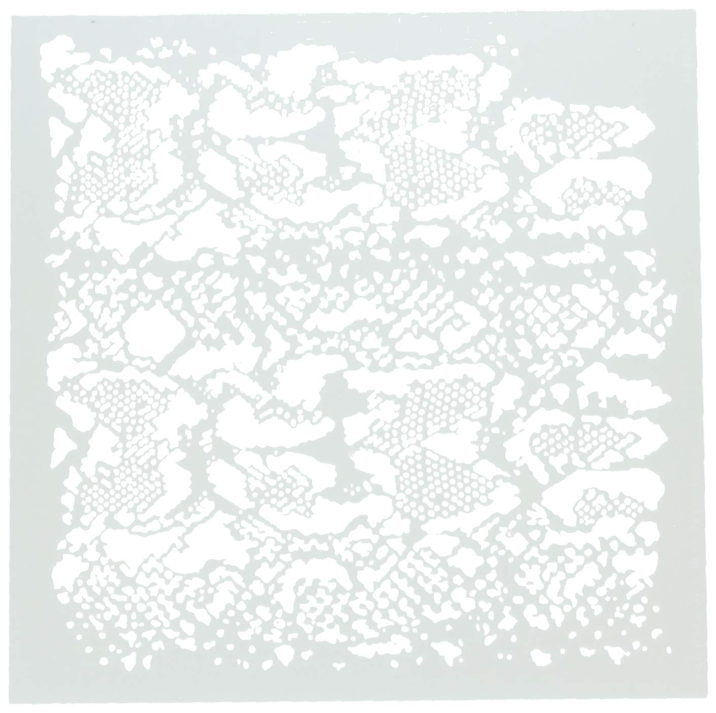 CRAFTERS WORKSHOP TCW746 Template 12''X12''-Snakeskin