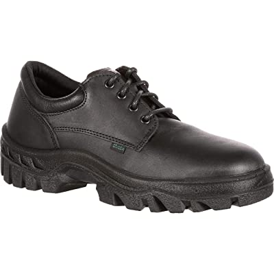 Rocky Tmc Postal-Approved Plain Toe Oxford Shoe | Industrial & Construction Boots