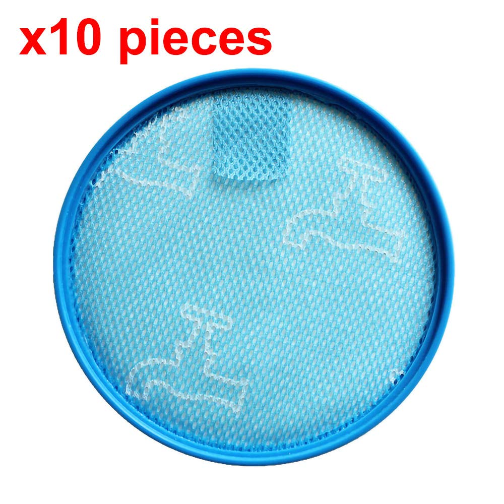 2/5 /10 Pieces Hepa Filter for Vacuum Cleaner Parts Replacement Pre-Motor Washable 134 Mm Diamete for Dyson DC25 DC25I