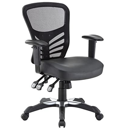 Pleasant Modway Articulate Mesh Office Chair With Fully Adjustable Spiritservingveterans Wood Chair Design Ideas Spiritservingveteransorg