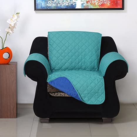 @home Microfibre Reversible Sofa Cover - 70