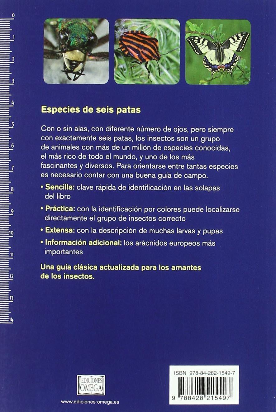 INSECTOS. NUEVA GUIA DE CAMPO GUIAS DEL NATURALISTA-INSECTOS Y ARACNIDOS: Amazon.es: BELLMANN, H.: Libros