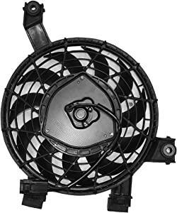 TYC 611270 Replacement Cooling Fan Assembly Compatible with Lexus GX 470