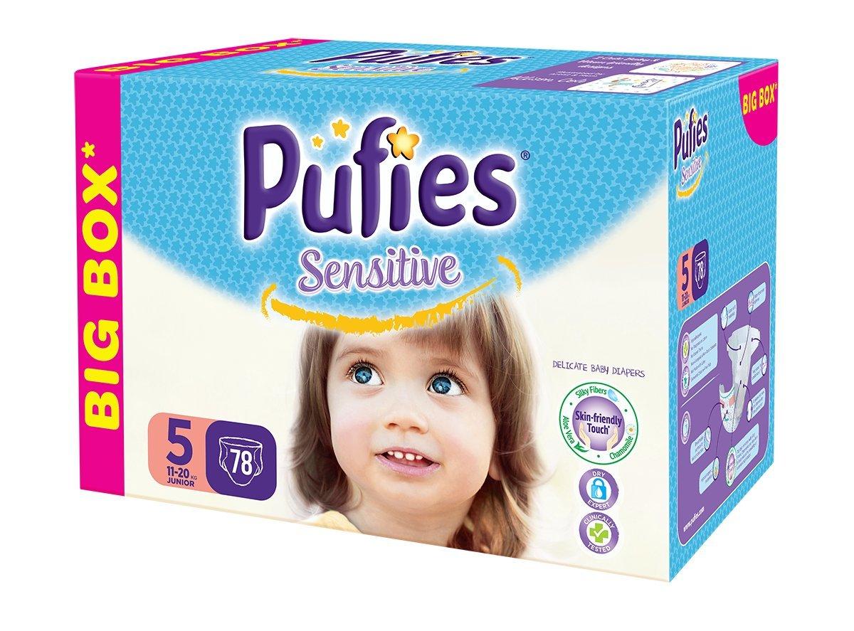 Pufies Sensitive Talla 3, 4-9 Kg - 108 Pañales: Amazon.es: Salud y cuidado personal