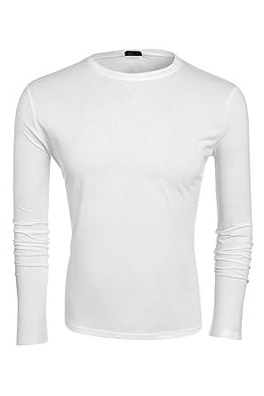 low priced 22701 e0175 Aulei Fashion Herren T-shirt langarm Hemd Langarmshirt ...