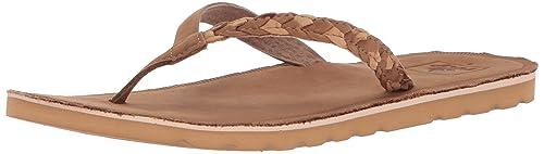 a66e440fa04f Reef Women s Voyage Sunset Caramel Flip Flops  Amazon.co.uk  Shoes ...