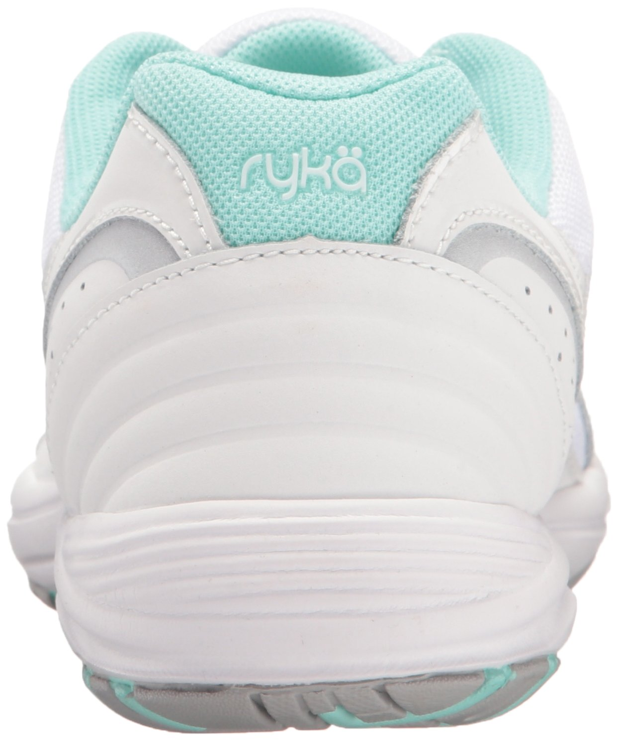 Ryka Women's Dash 3 Walking Shoe B01KWEX8JS 7 B(M) US|White/Silver/Mint