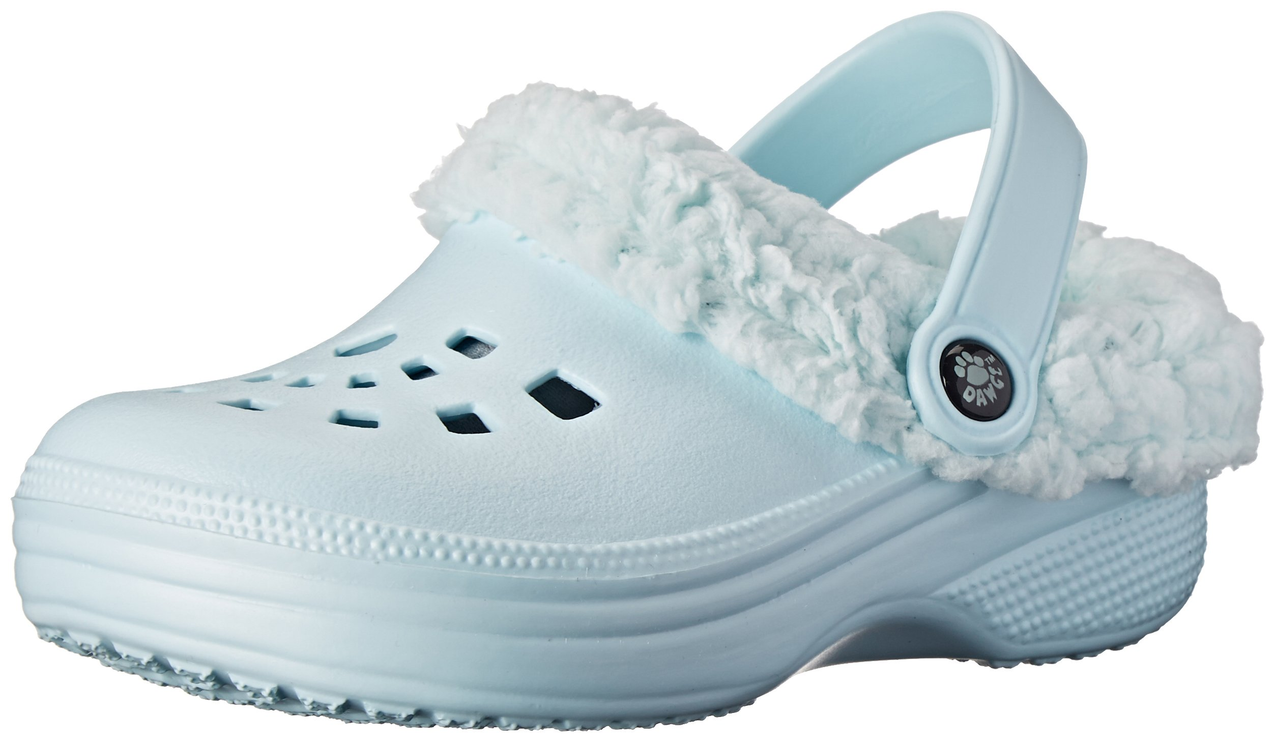 DAWGS Fleecedawgs Clog (Toddler/Little Kid), Baby Blue/Baby Blue, 8 M US Toddler