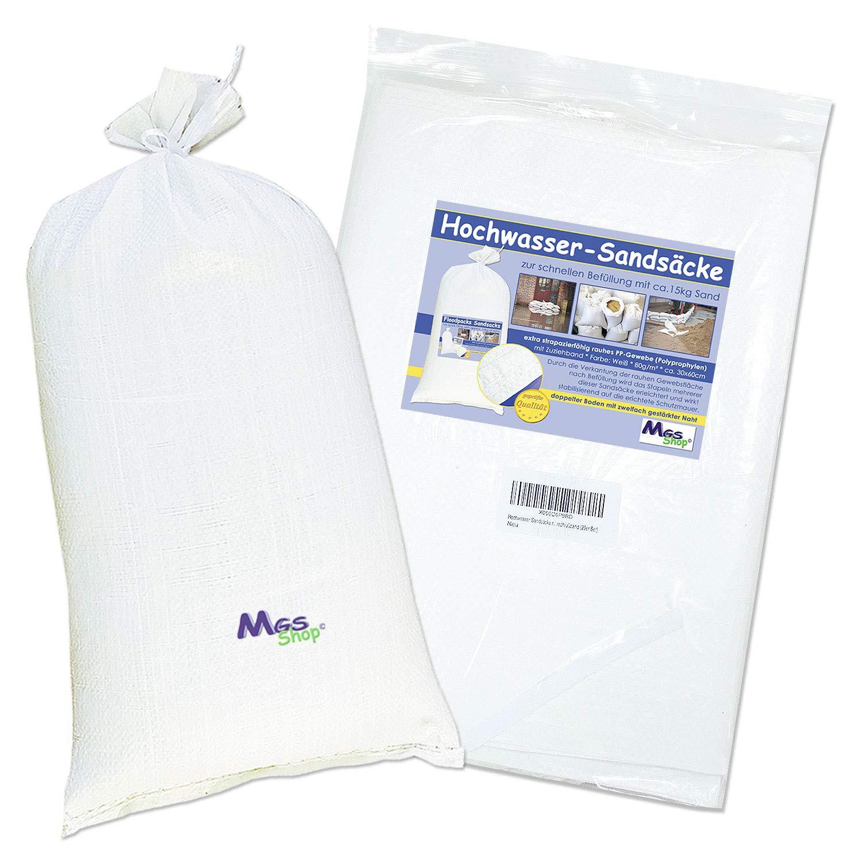 3,00 €//Stück Gewebesäcke 90 x 140 cm Getreidesack  Laubsack Sack 5 weiße PP