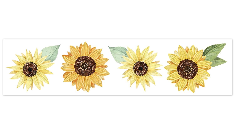 Amazon Com Sweet Jojo Designs Sunflower Floral Wallpaper Wall