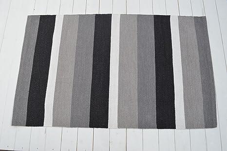 Pavimento Grigio Antracite : Pavimento tappeto cotone pembroke flat weave in grigio
