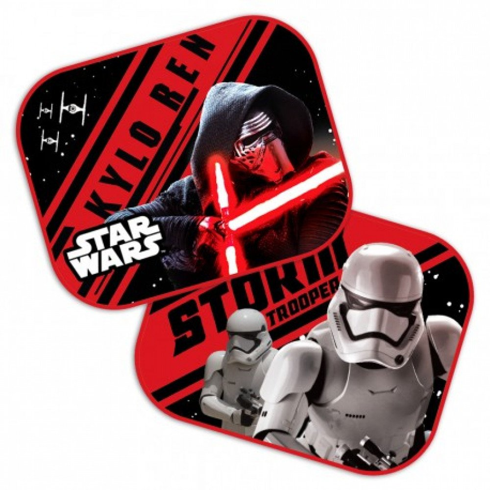Officially Licensed By Lucasfilm Star Wars 2 X Car Sun Shade/Curtains Side Window Sun Shade with UV Protection for Baby and Child Javoli