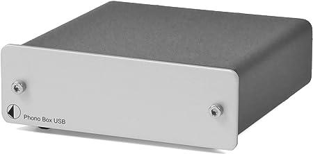 Pro Ject Phono Box Usb Silver Audio Hifi