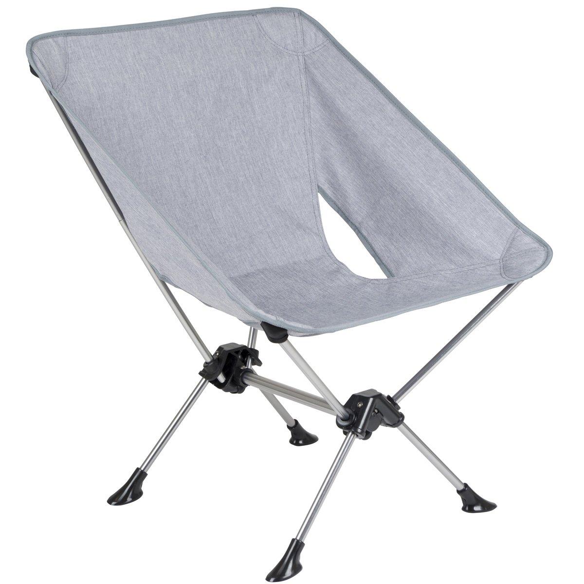 Faltstuhl mit robustem Aluminiumgestell und hochwertigem Polyesterbezug • Camping Stuhl Klappsessel Campingstuhl Klappstuhl Sessel Angelstuhl