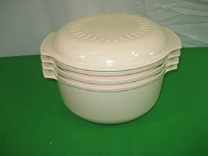Vintage Tupperware Stack Cooker 3 PIECE SET