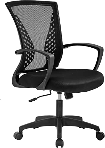 Vnewone Ergonomic Office Chair Desk Computer Mesh Executive Task Rolling Gaming Swivel Modern Adjustable