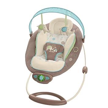 amazon com ingenuity the gentle automatic bouncer sahara burst baby