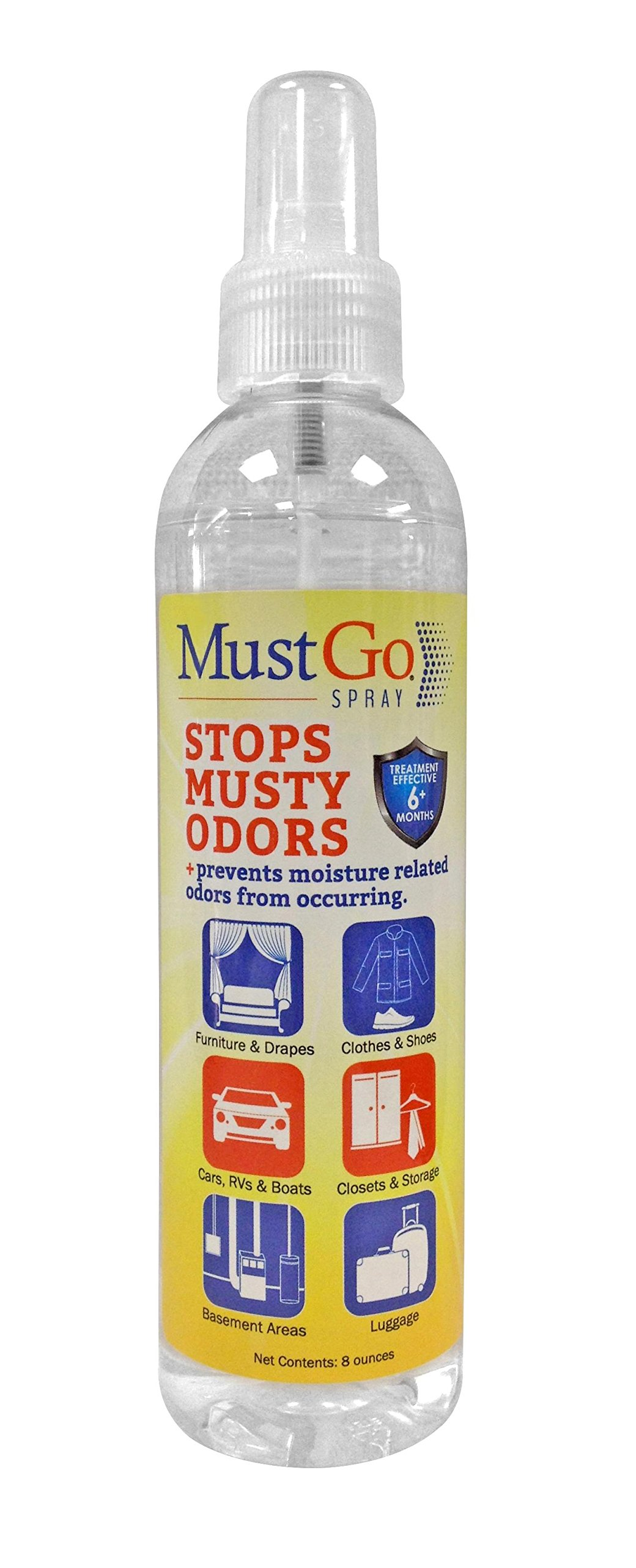 Amazon MustGo Odor Eliminator Solid Bar Controls and