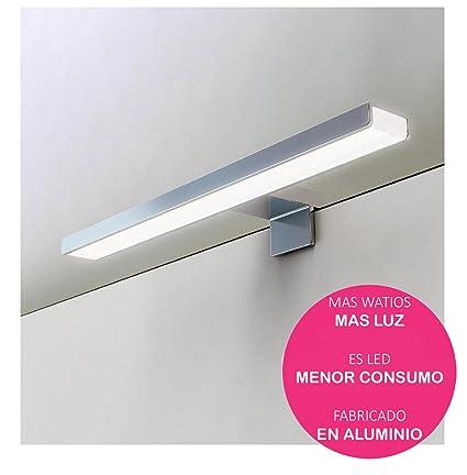 Oxen 213004 Aplique led de 60cm para iluminación del baño. Máxima  luminosidad con Sus mas 09b0172177cb