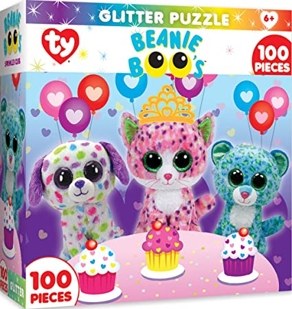 Amazon Com Masterpieces Ty Beanie Boo Sprinkles Club 100 Piece