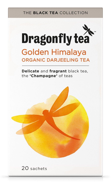 (10 PACK) - Dragonfly Tea - Organic Himalayan Darjeeling | 20 sachet | 10 PAC...