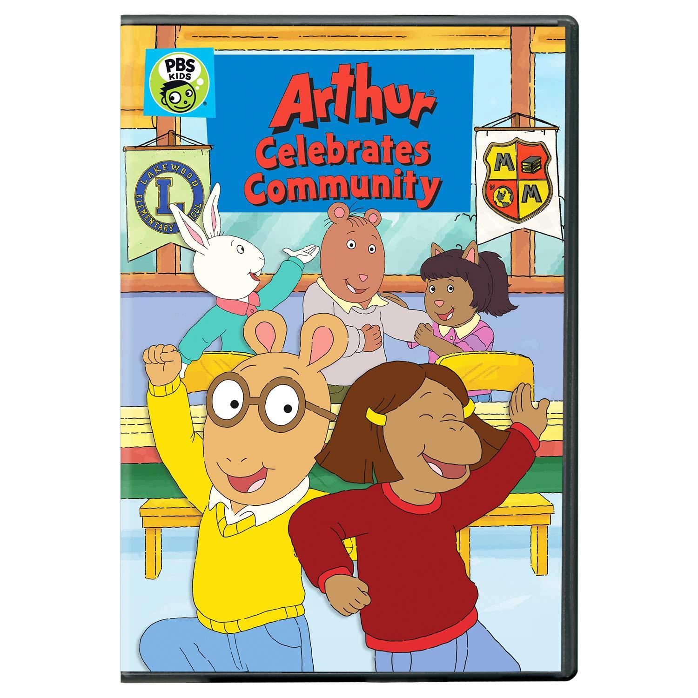 Amazon.com: Arthur Celebrates Community DVD: Jane Lynch, Roman Lutterotti,  Bruce Dinsmore, Evan Blaylock, Daniel Brochu, Ethan Pugiotto, Holly  Gauthier, Jodie Lynn Resther, Arthur Holden, Melissa, n/a: Movies & TV