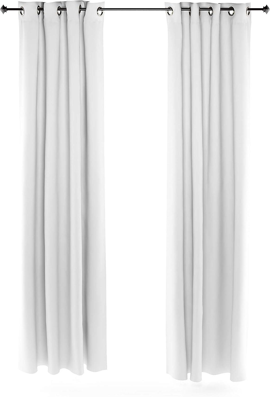 Furinno Collins Curtain 52x95 inches White