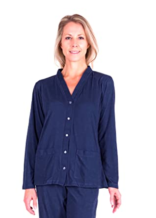 6753a042d3 Cool-jams Mix and Match Moisture Wicking PJ Topper Separate With  Pockets(S-XL) at Amazon Women s Clothing store