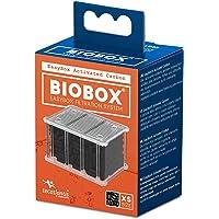 Tecatlantis EasyBox Filter mediakassett för BIOBOX, Aktiverat kol, X-Small