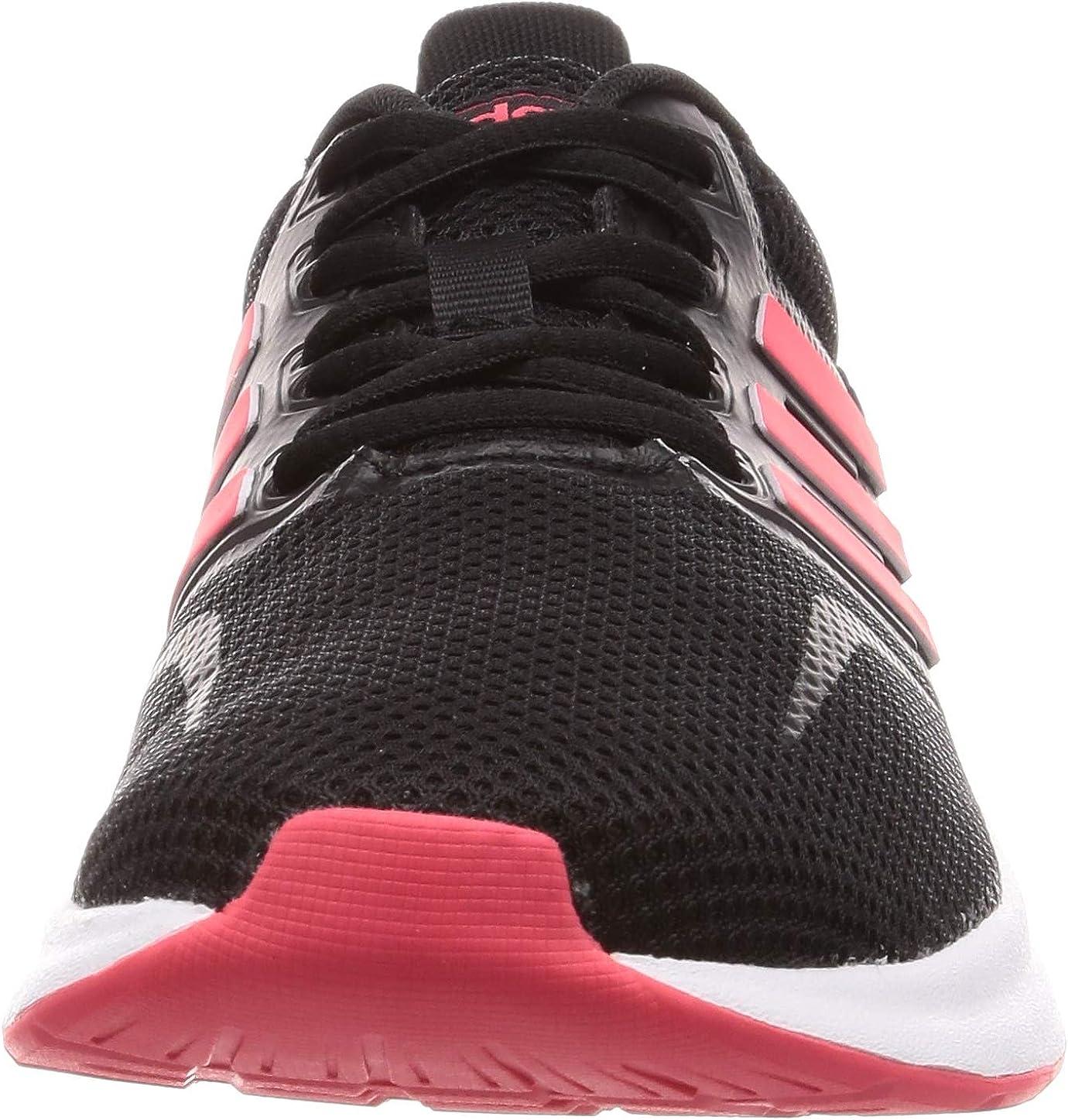 adidas Damen Runfalcon Traillaufschuhe Mehrfarbig (Negbás/Rojsho/Ftwbla 000)