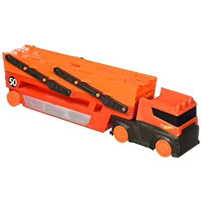 Hot Wheels Mega Hauler: Toys & Games