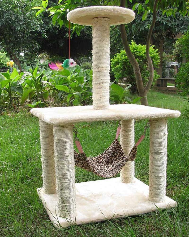 Weiwei Cat climbing frame cat grab column for sleeping Games 71cm 35cm  45cm