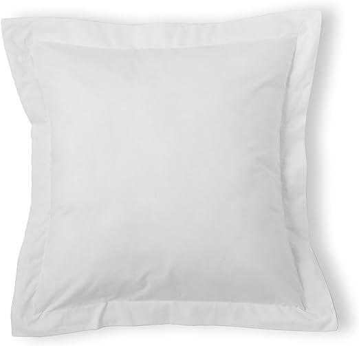 Eiffel Textile Funda Cojín, Algodón-Poliéster, Blanco, 55x55x10 cm: Amazon.es: Hogar