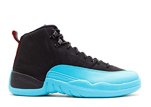 86b03524f49 ... get amazon nike mens air jordan 12 retro gamma blue leather basketball  shoes fashion sneakers 87486
