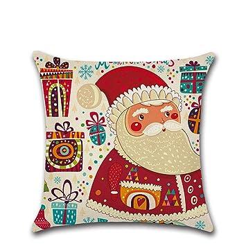 Amazon.com: ✿ Mose ✿ venta caliente.Feliz Navidad lino ...