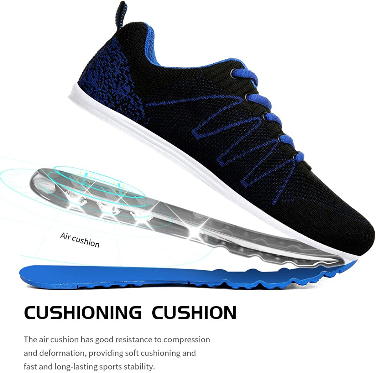 Homme Femme Air Running Baskets Chaussures Outdoor Running Gym Fitness Sport Sneakers