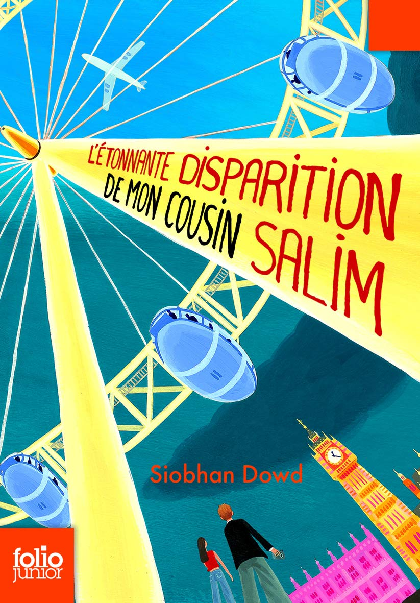 L'étonnante disparition de mon cousin Salim (Folio Junior) por Siobhan Dowd