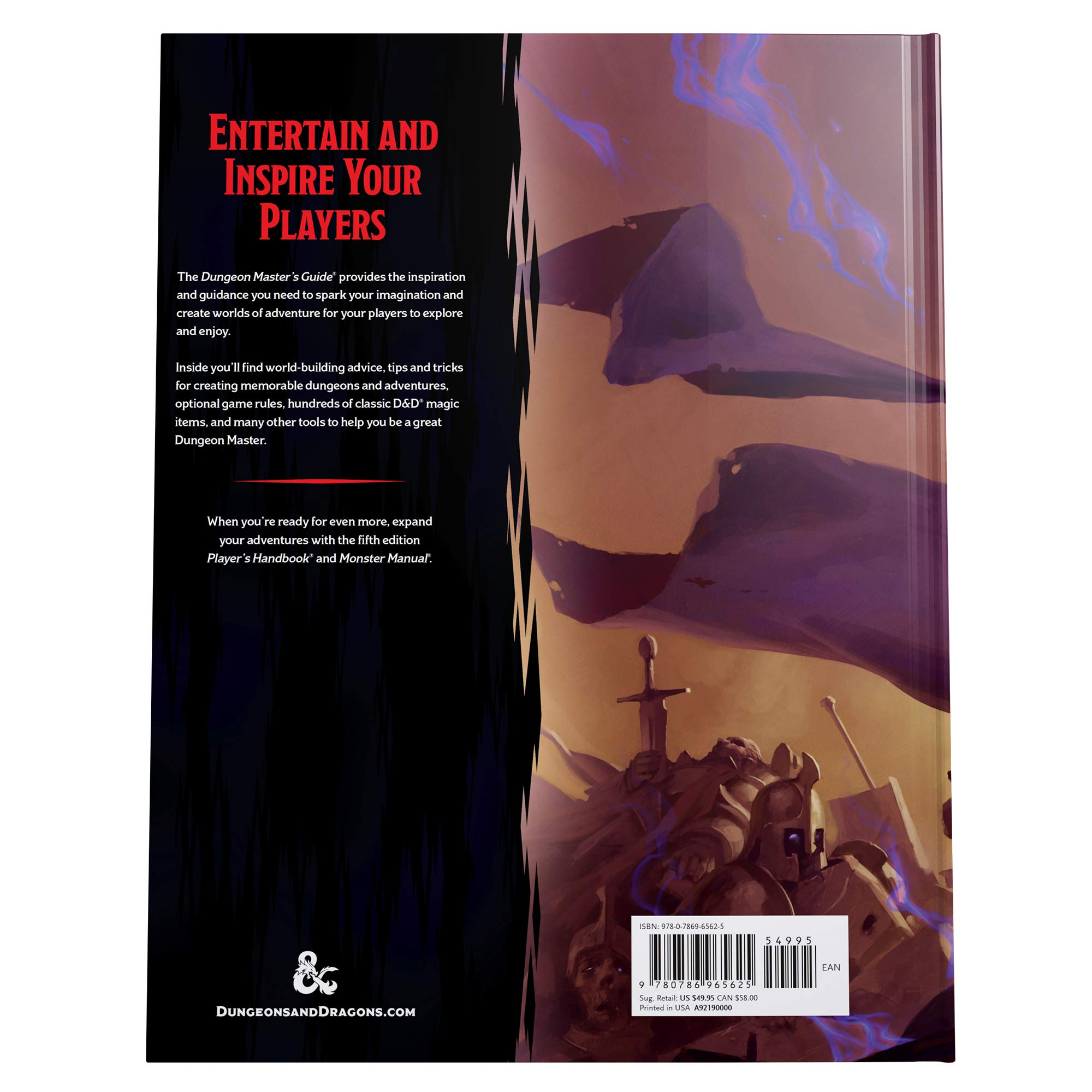 Dungeon Master's Guide (Dungeons & Dragons Core Rulebooks): Amazon
