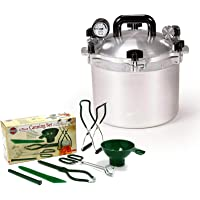 All American Pressure Cooker Bundle with Norpro Canning Essentials 6 Piece Box Set