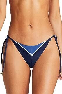 product image for Vitamin A Women's Blu Bar Stripe Natalie Tie Side Hipster Bikini Bottom