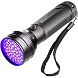 UV Flashlight Black Light, LED Blacklight Detector For Pet Dog/Cat Urine, Stains, Bed Bug, Pet Odor 2019