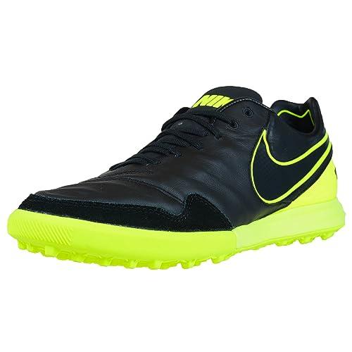 Nike 843962-070, Botas de fútbol para Hombre, Negro Volt/Black, 43 EU: Amazon.es: Zapatos y complementos