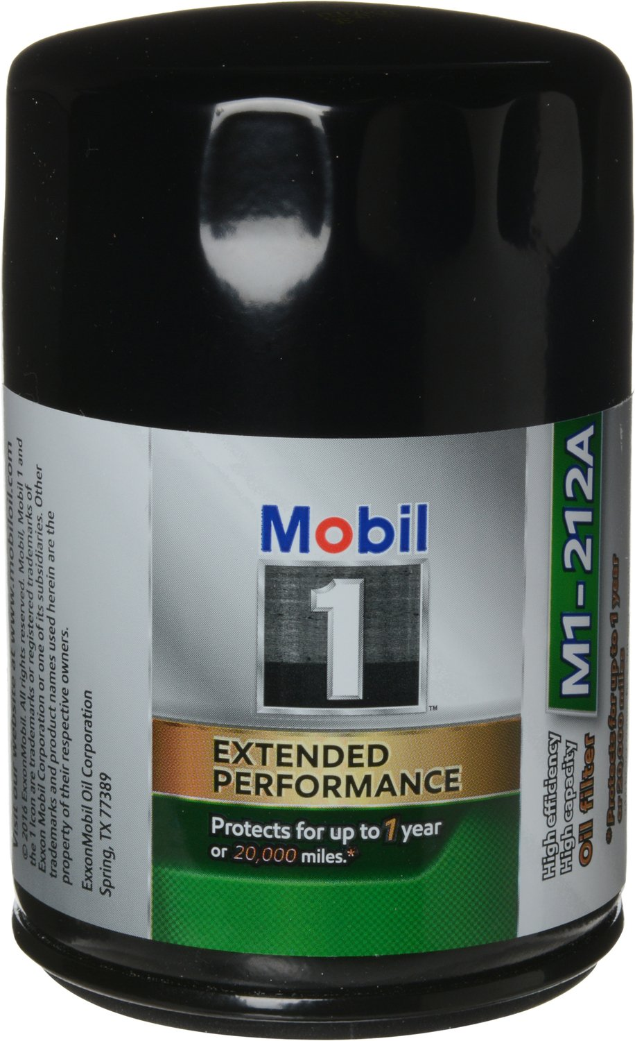 Mobil 1 M1-212A Extended Performance Oil Filter, 2 Pack