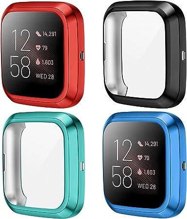 Kimilar Hülle Kompatibel Mit Fitbit Versa 2 Schutzhülle Elektronik
